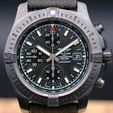 BREITLING COLT CHRONOGRAPH BLACK AUTOMATIC M13388 COMPLETED
