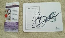 Bryson Dechambeau signed autograph authentic ANGC scorecard Masters JSA Q39864