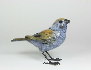 Solid Hot Cast Bronze  - Tree Sparrow - Limited Edition Certificate Authenticity