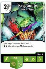090 KRYPTONITE: Green Plague -Uncommon- WORLD'S FINEST Marvel Dice Masters