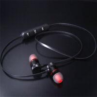 Wireless Bluetooth 4.1 Handsfree A2DP Stereo Ear Headset Sport Music Earphone FO