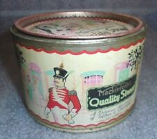 graphic old Mackintosh Toffee candy tin