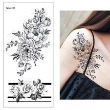 Peonia Fiore impermeabile tatuaggio temporaneo adesivo * UK Venditore */- m199 -/