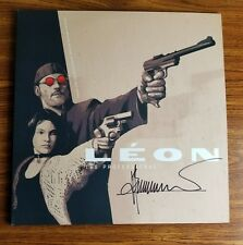 Luc Besson signed The Professional soundtrack vinyl authentic autograph - proof