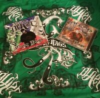 Blaze Ya Dead Homie - Gang Rags CD & GREEN Bandana insane clown posse twiztid