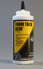 WOODLAND SCENICS FOAM TACK GLUE contact cement adhesive wood cork board WDS1444
