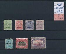 LN59536 Belgium 1920 occupation overprint fine lot MH cv 52 EUR