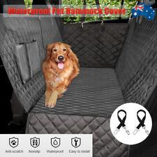 Pet Seat Cover Dog Car Rear Back Heavyduty Protector NonSlip Hammock Waterproof