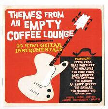 THEMES FROM AN EMPTY COFFEE LOUNGE : 33 KIWI GUITAR INSTRUMENTALS (CD)