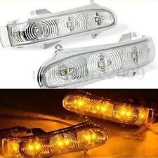Pair Mirror LED Turn Signal Light For Mercedes Benz S/CL-Class W220 W215 99-03