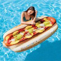 INTEX 58771 Materassino Hotdog Gonfiabile da Piscina Mare Gonfiabili per Bambini