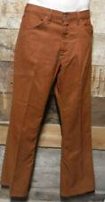 Vintage 1970'S Levis Sta Prest Copper Disco Pants 34 X 31 Made In Usa L@K