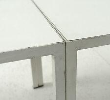 2 George Nelson steelframe coffeetables HERMAN MILLER VITRA