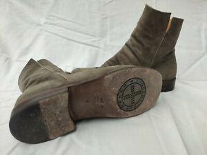 Fiorentini+Baker  Wildleder Stiefel  grau/taupe  Größe: 41