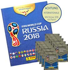 Panini WM 2018 - 1 Album 10 Tüten international Version