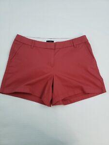 J.Crew women's Burgundy Wine 5 inch Inseam Pocketed 100% Cotton shorts size 14