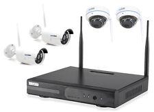 WLAN HD �œberwachungsset FUNK Kamera Domekamera kabellos Fernzugriff IP Kamera IR