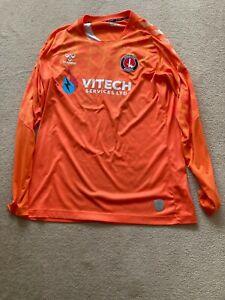 Match Worn Craig MacGillivray Charlton Athletic Shirt- Rare-Number 1-Large