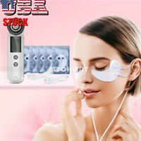Eye Care Patch RF Radio Frequency Red LED Light Therapy Skin Lifting Facial Care