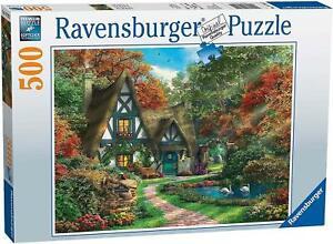 Ravensburger - Cottage in Autumn Puzzle 500pc