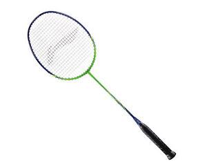 Li Ning Badmintonracket Turbo Force 1000 strung bespannt Badmintonschläger Neu