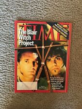 TIME Magazine Blair Witch Project Cover August 1999