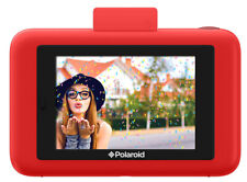 Polaroid Snap Touch Instant Print Digital Camera Red (Includes 10 Free Sheets)