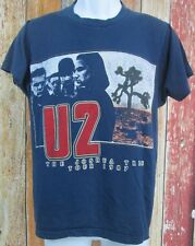 U2 The Joshua Tree American Tour Concert 1987 Vintage T-Shirt Small