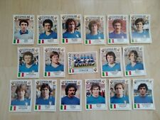 Paolo ROSSI Espana 82 - Panini World Cup Story - équipe complète ITALIE