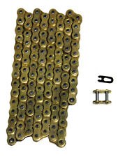 Gold 520x114 Non O-Ring Drive Chain ATV Motorcycle MX 520 Pitch 114 Links