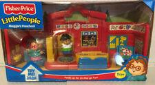 Fisher Price Little People Maggie's Preschool 2000 school NIB fold up playset