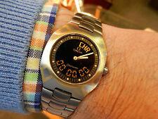 Runde Omega Semamaster-Quarz-Armbanduhren (Batterie)