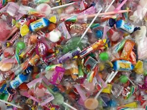 500 Teile Süßwaren Süßigkeiten Wurfmaterial Mix -  Jedes Teil Einzeln verpackt