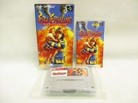 FIRE FIGHTING Super Famicom Nintendo Japan Boxed Game sf