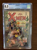 X-Men #38 CGC 8.5 (1967) Blob, Vanisher, Changeling, Mutant-Master appearance.