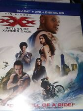xxx: return of xander cage, blu- ray,dvd,digital hd,Vin Diesel , New sealed