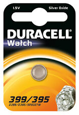 Duracell Batterie Silver Oxide Knopfzelle 399/395 1.5v