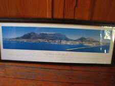 4 LARGE PANORAMIC PICTURES OF THE WORLD GREAT CITIES. HIGHLY DECORATIVE