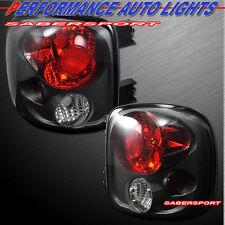 Set of Pair Black Smoke Taillights for 1999-2004 Silverado Sierra Stepside only