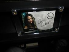 ANGEL AUTOGRAPH CARD A15 AMY ACKER AS FRED NEW 4/SCREW TOP LOADER FREE SHIPPING!