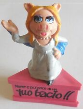 TOYS PUPAZZO MISS PIGGY MUPPET SCHLEICH 1980 W GERMANY VINTAGE