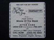 THE MATURE MEDIA GROUP AND FANTASY LANE UNIT 20 MOLONGLO MALL FYSHWICK COASTER