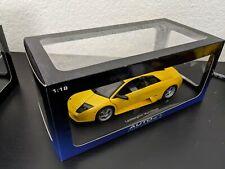 Autoart 1:18 Lamborghini Murcielago Pearl Yellow Diecast Model Car US SELLER