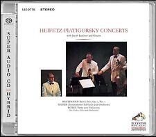 Heifetz-Piatigorsky mezzodì + + Hybrid SACD + PIM 8314+ + + NUOVO