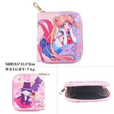 Cosplay Sailor moon Anime Manga Leder PU Geldbörse Geldbeutel 10x8x2.5cm Neu