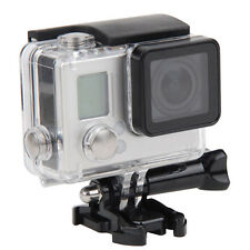 Underwater Waterproof Diving Housing Case for GoPro Hero 3+/Hero 4 +Mount Clip