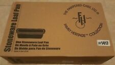 Pampered Chef Stoneware Loaf Pan New in box~ Item #1417