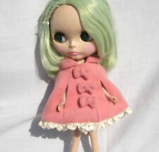 Blythe Outfit Clothing Pink Flannelet Cape