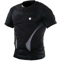 Dye Performance Top Black Paintball Padded Chest Protector S/M Small Medium NEW