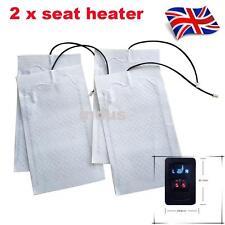 2 seats Universal Auto Seat heating Carbon heating mats Retrofit kit Cars heater